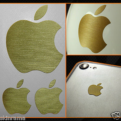Adesivo Sticker Mela Apple iPhone iPad iMac Oro / Gold