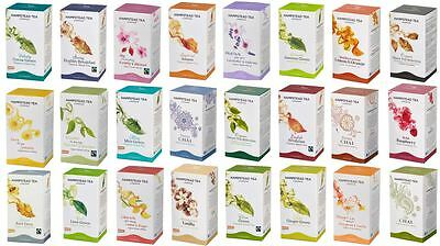 Hampstead Herbal Organic Fairtrade Teas Tea Sachets - Choose From 25+ Varieties