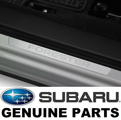 2014-2017 Subaru Forester OEM Front Side Sill Plates (Set of 2) - E101SSG000