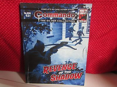 commando war comic ( revenge of the shadow ) the silver collection. no 4930.