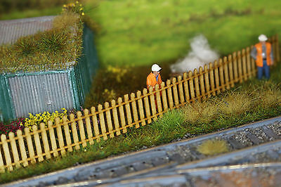 Laser Cut 4ft Garden Fencing and Rails OO SCALE 1:76 MODEL RAILWAY