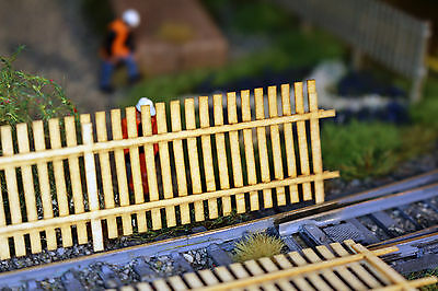Laser Cut 6ft Fence Post and Rail OO SCALE 1:76 MODEL RAILWAY
