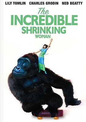 The Incredible Shrinking Woman DVD 1981 Lily Tomlin  Charles Grodin (MOD)