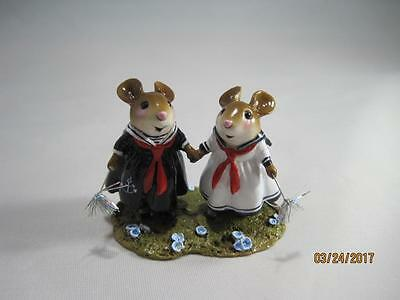 Wee Forest Folk M-528 Sparkle Sisters - Retired - New in Wff Box