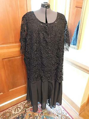 Beautiful Black Mother Of The Bride Or Groom Or Formal Occasion Dress Size 34W