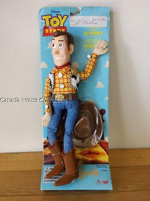 "RARE Canada Version of Toy Story Adventure Buddy Woody - 13.5"" and MOC"