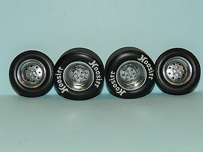 GMP 1/18 Kings Draglight Wheel And Tyre Set Great for diorama or rebuilds