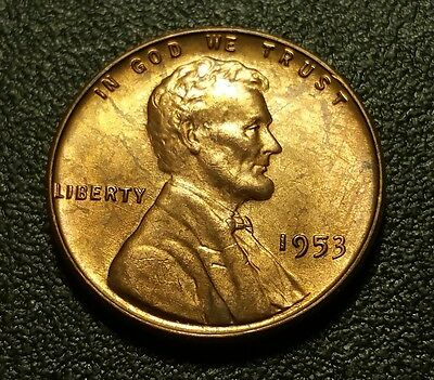 1953 P  Lincoln Wheat Penny #w24881