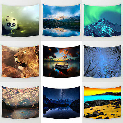 Landscape Hanging Tapestry Polyester Wall Sticker Wall Decor  Home Decor