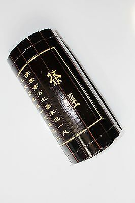 "Chinese Classical Bamboo Scroll Slips famous Book of "" The Classic of Tea"""
