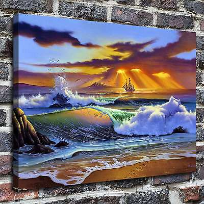 Tropical Marine Paintings HD Print on Canvas Home Decor Wall Art Pictures