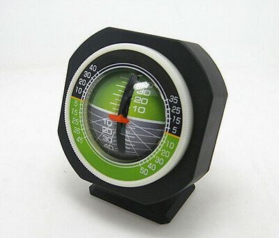 Professional Car Truck Angle Tilt Indicator Balancer Backlight Slope Gauge Meter