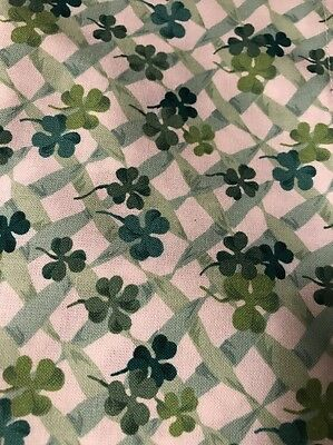 Longaberger Lots Of Luck Fabric Napkins - Set of 2