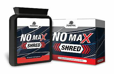 NO Max Shred - Nitric Oxide Booster - 60 Capsules