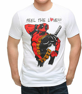 Deadpool Feel The Love T-Shirt size 2x large new