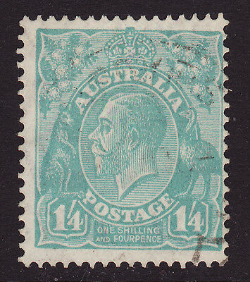 1931-6 KGV 1/4 BLUE C of A - USED