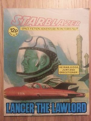 Starblazer Issue No 9 - Lancer the Lawlord