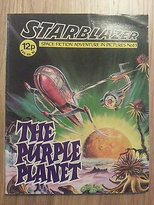 Starblazer Issue No 11 - The Purple Plant