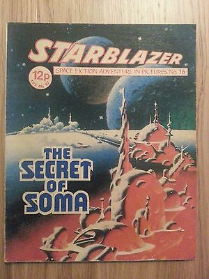Starblazer Issue No 16 - The Secret of Soma