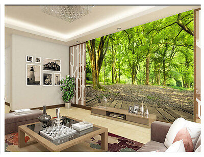 3D Forest Nature Wall Mural Photo Wallpaper Non-woven TV Background Room Decor