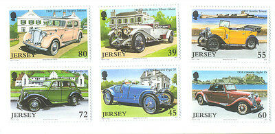 Jersey Cars 2010 issue mnh Vintage vehicles-Classic Cars