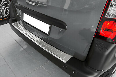 Stainless Steel Boot Edge Protector Suitable for CITROEN spacetourer Built 2016