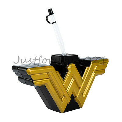 Wonder Woman Movie LOGO Heterotypic Cup Travel Drinking Cup Souvenir