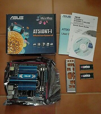 Asus AT5IONT-I motherboard incl. 2x 2GB RAM