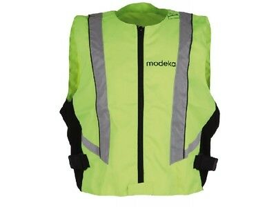 Modeka High visibility vest 8XL neon yellow Motorcycle Safety vest Reflector