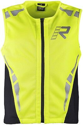 Rukka Safety vest Motorcycle High visibility vest neon yellow black size 3XL