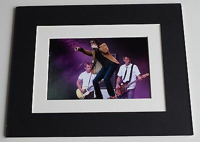 Jarvis Cocker Signed Autograph 10x8 photo mount display Pulp Music AFTAL & COA