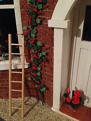 Dolls House Miniature Pine Ladder Diy Limited Top End Hand Crafted