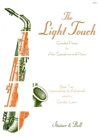 LEWIN LIGHT TOUCH Book 2 ALTO SAX & Piano