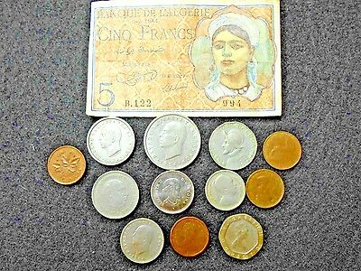 foriegn coin & currency lot
