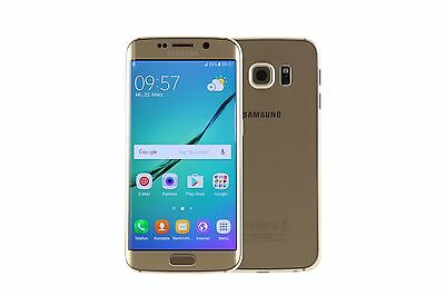 Samsung Galaxy S6 Edge G925 32GB Gold - (Top Zustand)