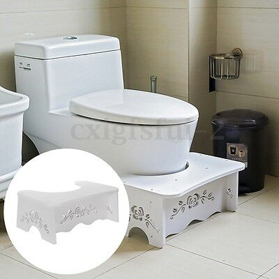 Toilet Stand Stool Footstep Natural Potty Squat Aid Constipation Piles Relief