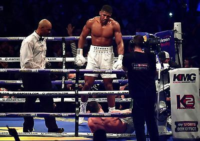 ANTHONY JOSHUA v WLADIMIR KLITSCHKO 18 (2017 BOXING) MUGS & PHOTO PRINTS