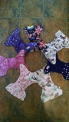 Alva Cloth Diaper Lot for Baby Girl! Great Gently Used and UNUSED Together!