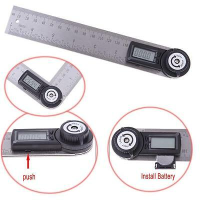 Electronic 7inch 360 Degree Digital Angle Rule Ruler Finder Meter Protractor New