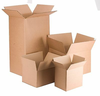 Strong Cardboard Boxes Various Sizes Packing Home Removal Storage Cartons
