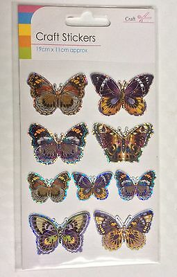 Butterfly Craft  Stickers Embellishments