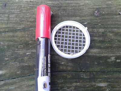 Red Queen Marking Pen with Press-In Cage