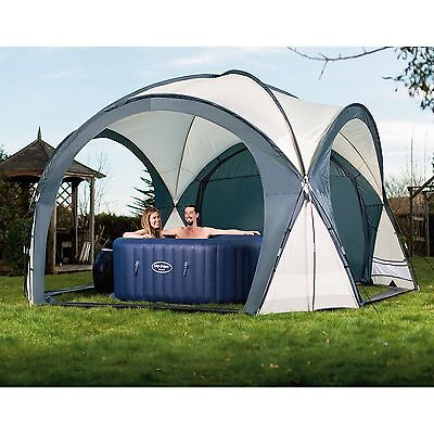 Bestway Lay-Z-Spa Dome Protective Cover Sunshade for Inflatable Hot Tubs