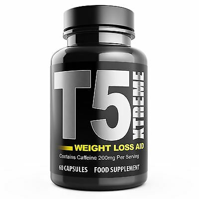 T5 Fat Burners Max Strength Xtreme Fat Burner Slimming Diet Weight Loss Pills