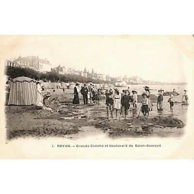 [17] Royan - Grand Conche et boulevard de Saint-Georges.