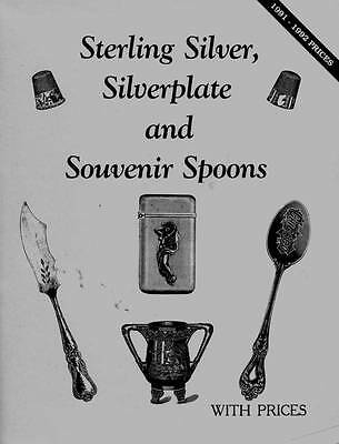 Sterling Silver Silverplate & Souvenir Spoons 1991