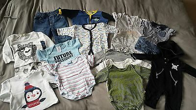baby boy clothes bundle mostly 0-3 months