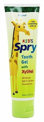 KID'S SPRY tooth gel with Xylitol 2 Oz