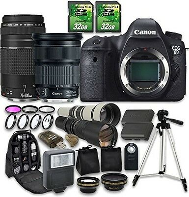 Canon EOS 6D Camera Bundle with Canon EF 24-105mm f/3.5-5.6 IS STM Lens