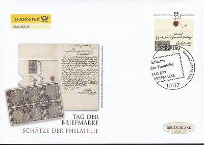 BRD 2009 Deutsche Post FDC MiNr. 2735  Tag der Briefmarke